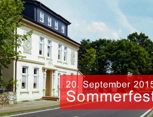 Haus Immergrün & Einladung zum Sommerfest